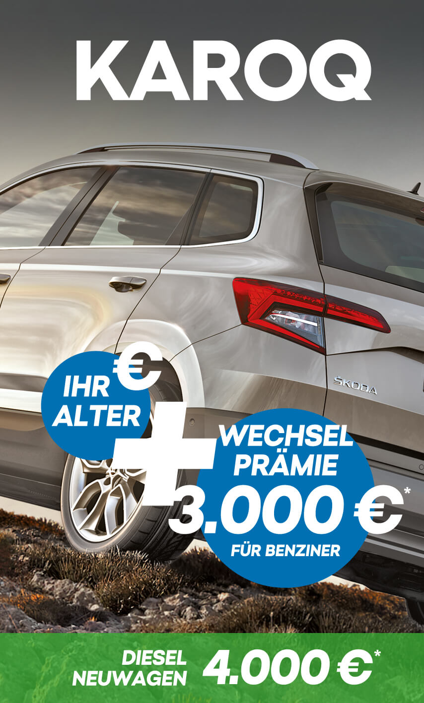 Škoda Wechselprämie bei Autohaus Biering